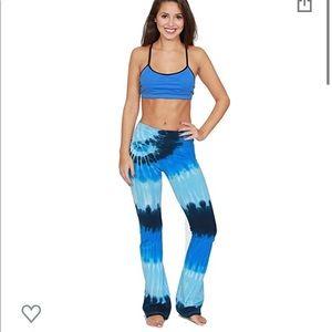 American Apparel Tie Dye Yoga Pants